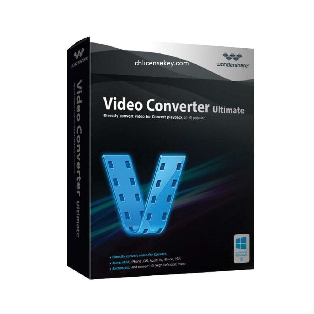 Wondershare Video Converter Ultimate Crack + License Keys 2020